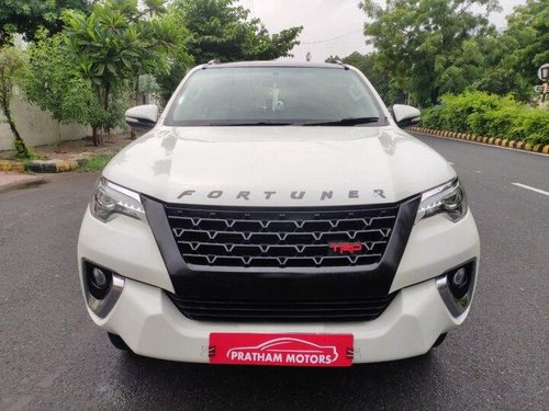 Used Toyota Fortuner 2.8 4WD 2017 AT for sale in Ahmedabad