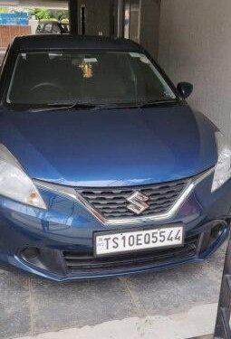 Used Maruti Suzuki Baleno 2018 MT for sale in Hyderabad