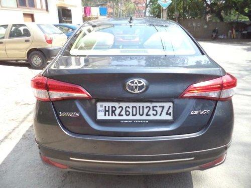 2018 Toyota Yaris VX CVT BSIV AT for sale in New Delhi