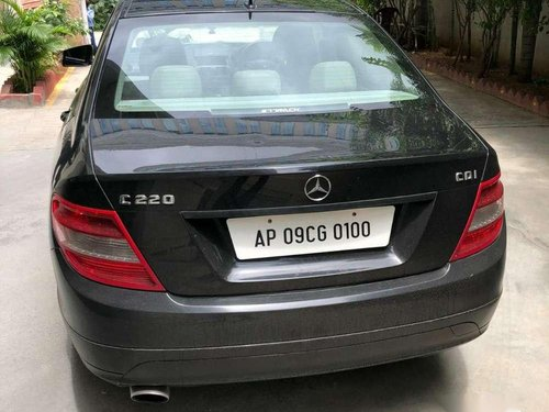 2011 Mercedes Benz C-Class 220 AT for sale in Hyderabad