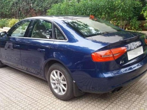 Used 2014 Audi A4 35 TDI Premium AT for sale in Hyderabad
