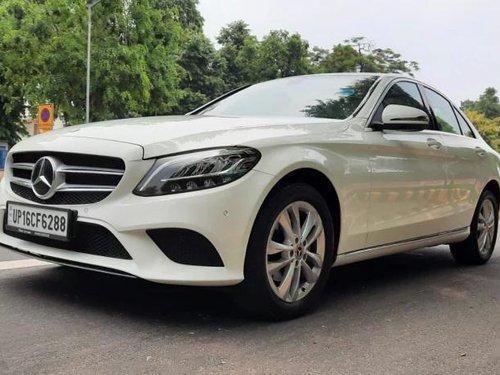 2019 Mercedes-Benz C-Class Progressive C 220d AT in New Delhi