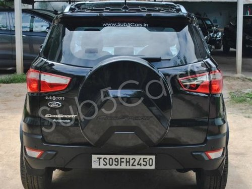 2019 Ford EcoSport 1.5 Petrol Trend Plus AT in Hyderabad
