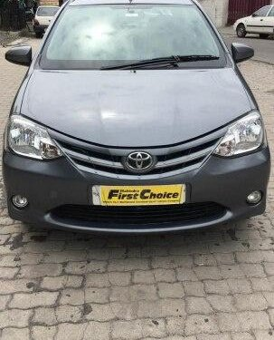Used Toyota Platinum Etios 2013 MT for sale in Jalandhar
