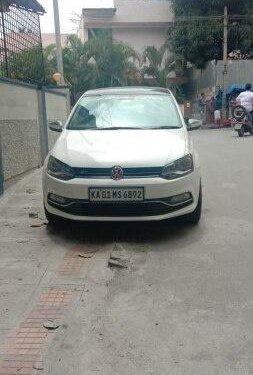 Volkswagen Polo 1.0 MPI Comfortline 2018 MT for sale in Bangalore