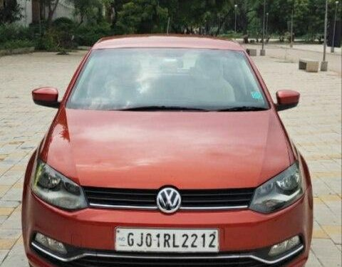 Volkswagen Polo 1.0 MPI Highline 2015 MT in Ahmedabad
