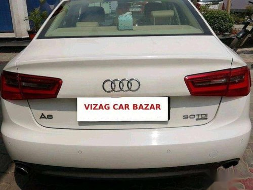 Used Audi A6 3.0 TDI quattro 2012 AT for sale in Visakhapatnam