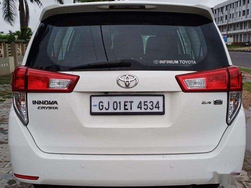 2017 Toyota Innova Crysta MT for sale in Visnagar