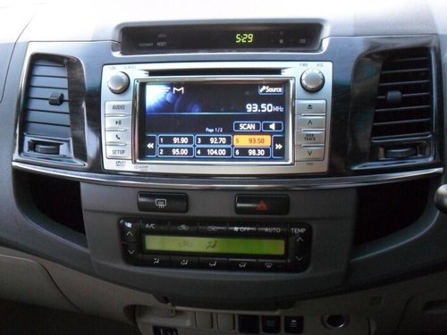 2012 Toyota Fortuner 4x4 MT for sale in Bangalore