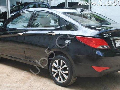 Hyundai Verna 1.6 CRDI SX Option 2017 MT for sale in Hyderabad