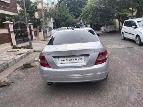 Used 2008 Mercedes Benz C-Class 220 AT for sale in Hyderabad