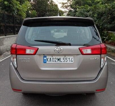 Toyota Innova Crysta 2.4 ZX 2016 MT for sale in Bangalore