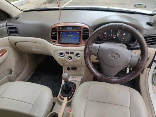 Hyundai Verna S 2010 MT for sale in Bangalore