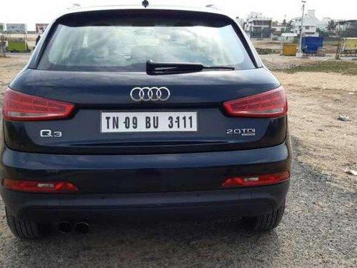 Audi Q3 2.0 TDI Quattro 2013 AT for sale in Chennai