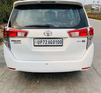 2017 Toyota Innova Crysta 2.4 G MT 8 STR in New Delhi