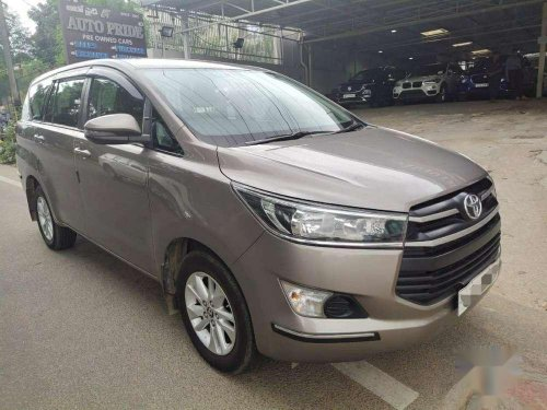 Used Toyota Innova Crysta 2018 MT for sale in Hyderabad