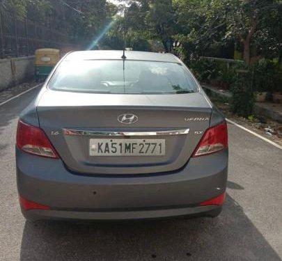 2014 Hyundai Verna MT for sale in Bangalore