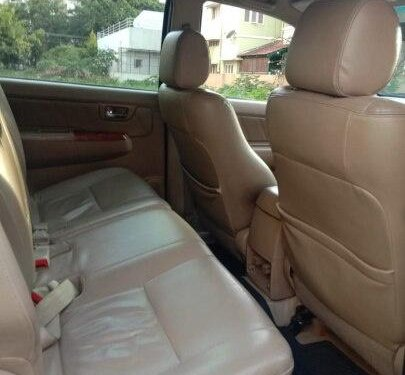 Used 2011 Toyota Fortuner 2.8 4WD MT for sale in Bangalore