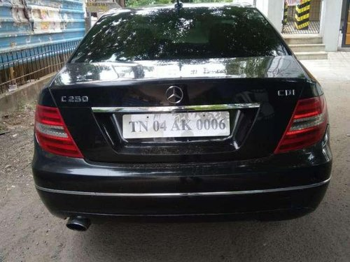 2012 Mercedes Benz C-Class AT for sale in Chennai