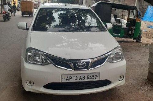 Toyota Platinum Etios 1.4 GD 2012 MT for sale in Hyderabad