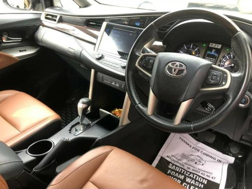 Used 2017 Toyota Innova Crysta 2.8 ZX AT in Hyderabad