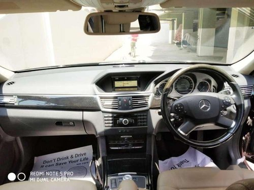 Used 2011 Mercedes Benz E Class AT for sale in Hyderabad