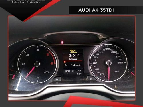 Used 2016 Audi A4 35 TDI Premium AT for sale in Chennai