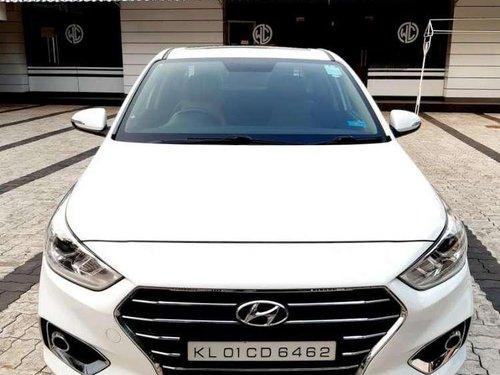 Hyundai Verna CRDi 1.6 SX Option 2017 MT for sale in Kozhikode