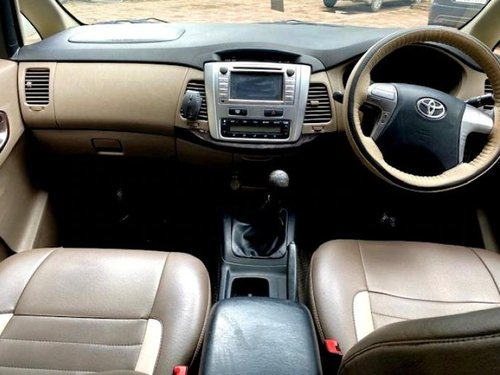 Toyota Innova 2.5 VX (Diesel) 8 Seater 2015 MT for sale in Mumbai-5