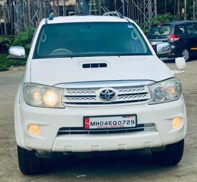 2010 Toyota Fortuner 4x4 MT for sale in Mumbai