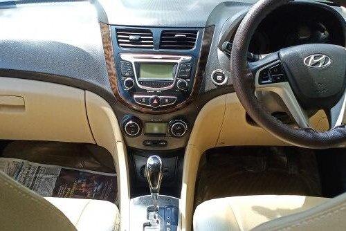 2012 Hyundai Verna SX IVT Opt AT in Ahmedabad