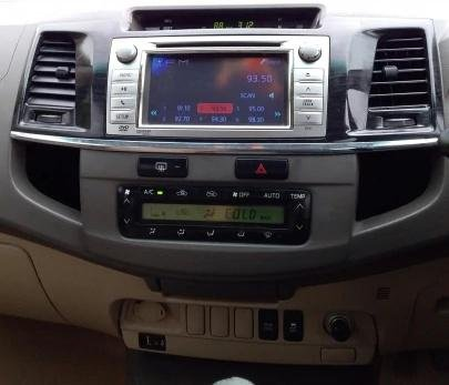2012 Toyota Fortuner 4x4 MT for sale in New Delhi