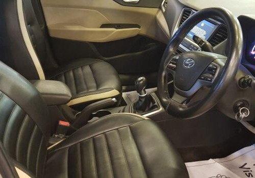 Hyundai Verna 1.6 CRDi SX 2017 MT in Bangalore