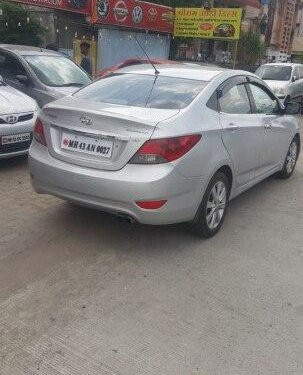 Hyundai Verna SX Opt 2012 MT for sale in Nagpur -1
