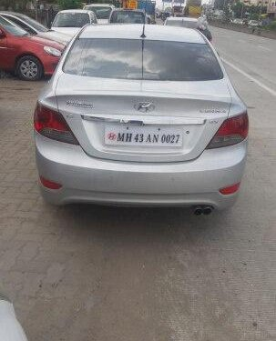 Hyundai Verna SX Opt 2012 MT for sale in Nagpur -2