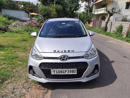Used Hyundai Grand i10 Sportz 2018 MT for sale in Hyderabad