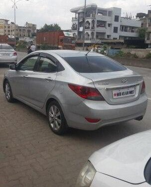 Hyundai Verna SX Opt 2012 MT for sale in Nagpur -3