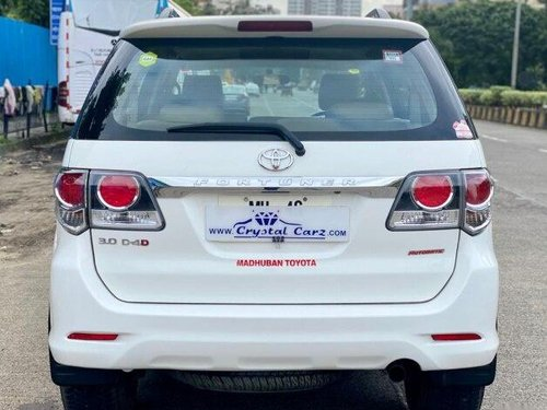 Used Toyota Fortuner 4x2 AT 2016 AT for sale in Mumbai