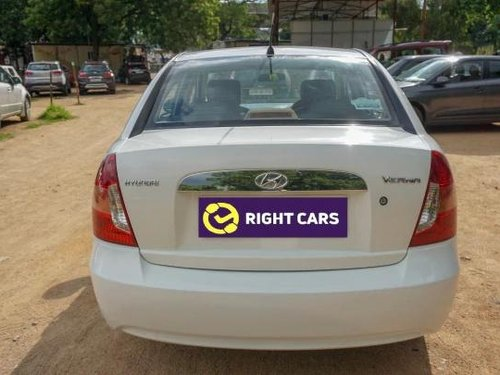 Used 2009 Hyundai Verna MT for sale in Hyderabad