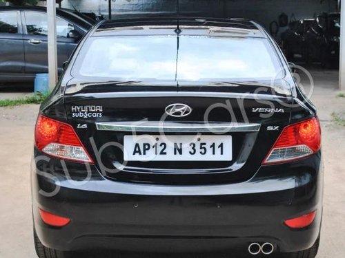 Hyundai Verna 1.6 SX VTVT (O) 2013 MT for sale in Hyderabad