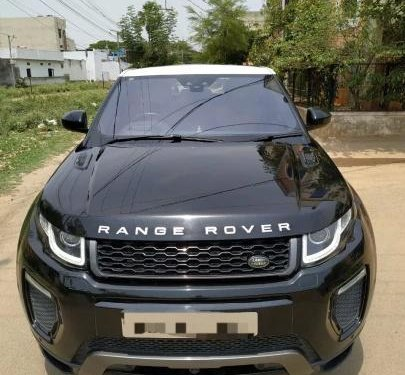 Used Land Rover Range Rover Evoque 2016 AT in Hyderabad