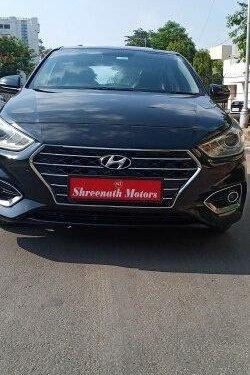 Hyundai Verna SX Opt AT Diesel 2018 AT for sale in Ahmedabad