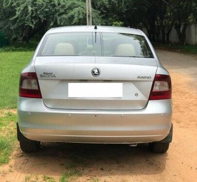 Used 2015 Skoda Rapid 1.5 TDI Ambition Plus MT for sale in Hyderabad