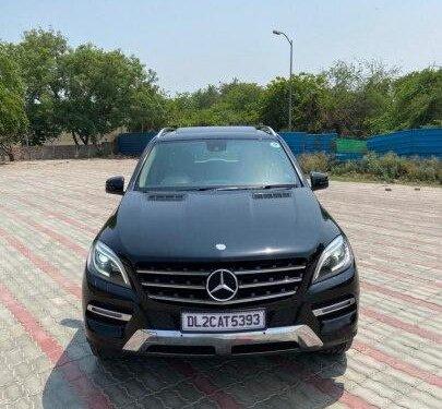 Used Mercedes-Benz M-Class ML 250 CDI 2015 AT in New Delhi