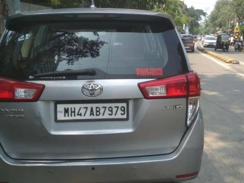 2017 Toyota Innova Crysta 2.4 GX MT for sale in Pune