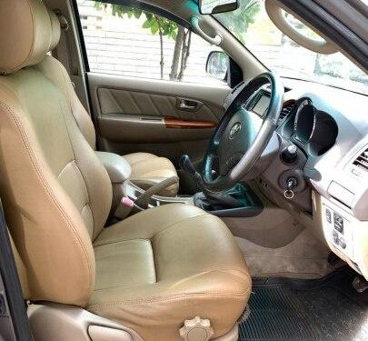 Used 2010 Toyota Fortuner 4x4 MT in Bangalore
