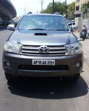 Used Toyota Fortuner 2010 MT for sale in Hyderabad