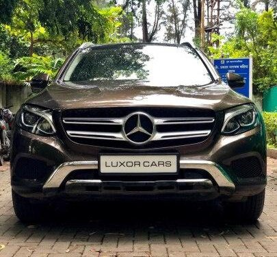 Used Mercedes Benz GLC 2017 AT for sale in Pune