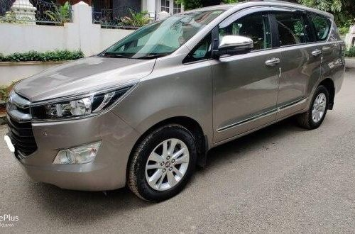 2019 Toyota Innova Crysta 2.4 GX MT in Bangalore
