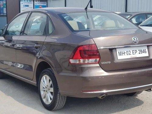 Volkswagen Vento 1.6 Highline 2017 MT for sale in Pune